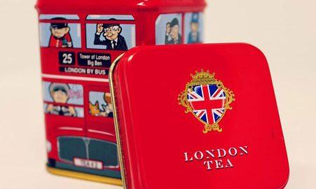 ロンドンのお菓子箱