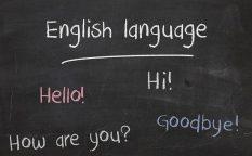 英語 黒板